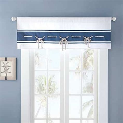 beach curtains for kitchen 10 attractive coastal kitchen curtains under 33 00