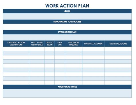 update 15261 action plan templates excel 41 documents