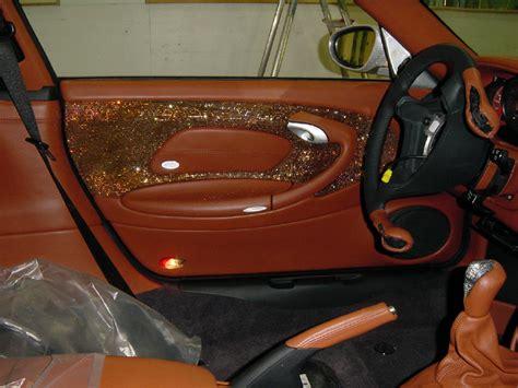 Lederpflege Autositze Cabrio by Rinspeed Splash Mit Interieur Jaggi Autosattlerei