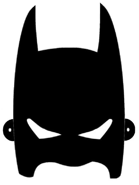Masques Masque De Batman 224 Colorier