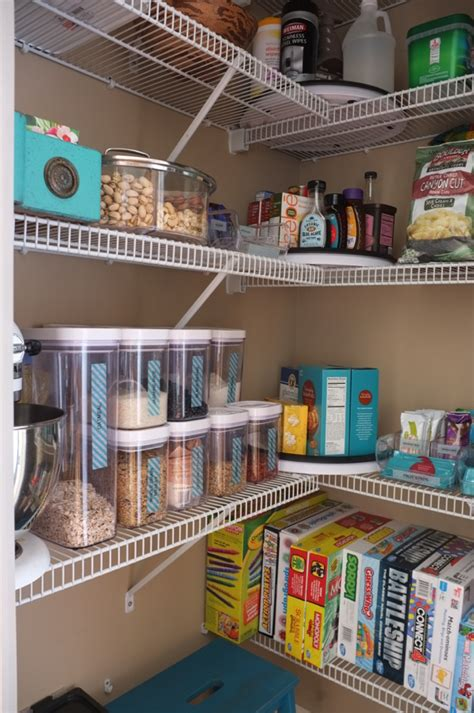 Organizing A Pantry With Wire Shelves by How I Organized Pantry So It Never Becomes A Mess Again
