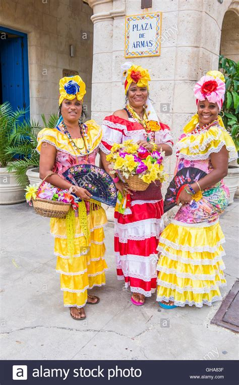 Cuba Dress cuban with traditional clothing in stock
