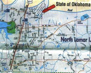 lamar county map 1658 acres in lamar county