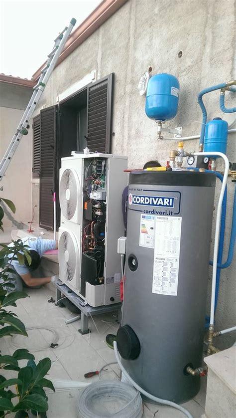 pompa di calore riscaldamento a pavimento impianto di riscaldamento villa con pompa di calore