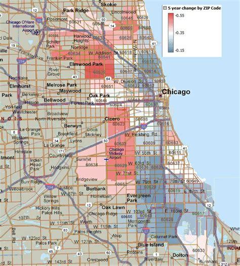 zip code map chicago chicago zip code history