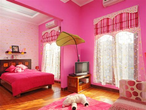 desain dinding kamar belang belang pink cat dinding kamar tidur anak perempuan warna pink