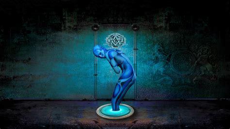 blue wallpaper ultra hd blue magic 4k ultra hd wallpaper by walentywalewski on