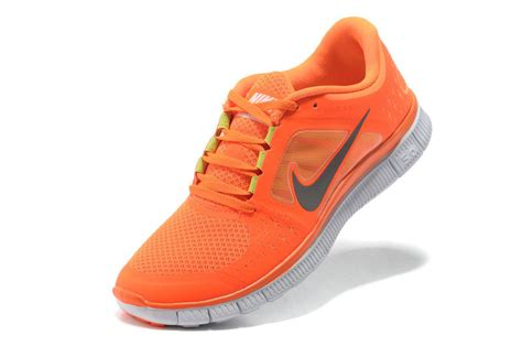 nike orange and grey running shoes orange grey nike free run 3 5 0 running shoes 70