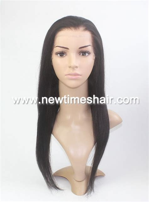 are there any full wigs made from human kinky hair that is styled in a two strand twist for black woman human hair custom made flat back thin skin wig for women