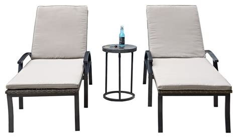 chaise table home styles furniture laguna 2 chaise lounge chairs and