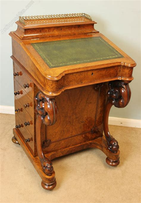 antique writing desk antique writing antique walnut davenport writing desk antiques atlas