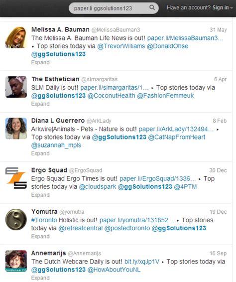 Paper L - paper li lets you write your own newspaper social media sun