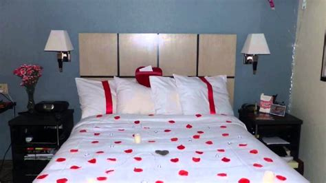 how to set up romantic bedroom how to decorate a hotel suite for romantic setting youtube