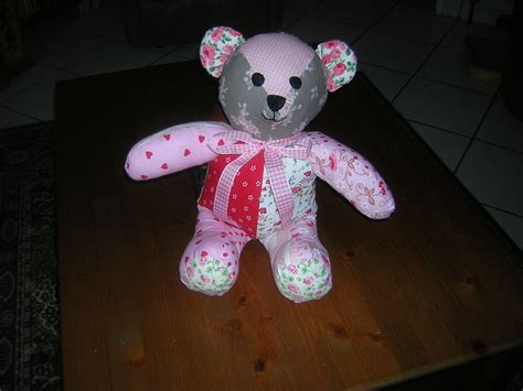 Patchwork Teddy Pattern - attempt patchwork teddy different pattern from
