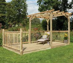 patio deck kits 1000 images about garden decking on forest
