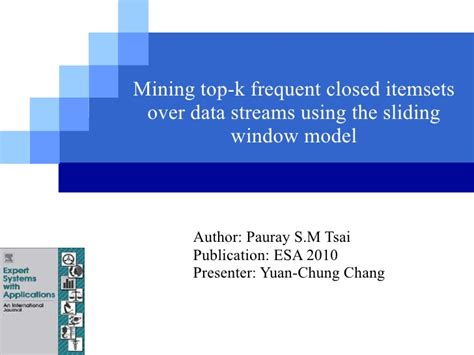 frequent pattern mining web log data mining top k frequent closed itemsets