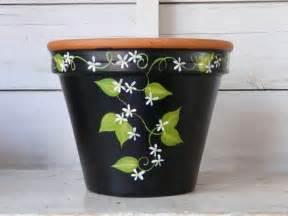 Painting A Flower Pot Ideas » Home Design 2017