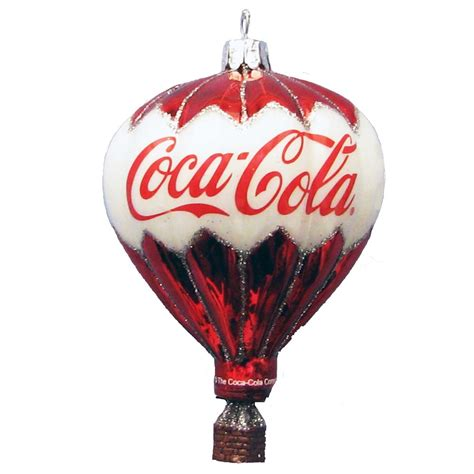 other home decor kurt adler coca cola glass balloon
