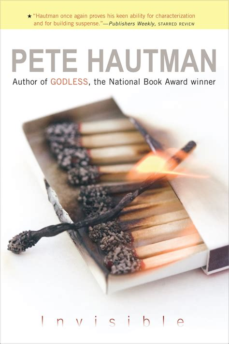 the invisible book report invisible book by pete hautman official publisher page