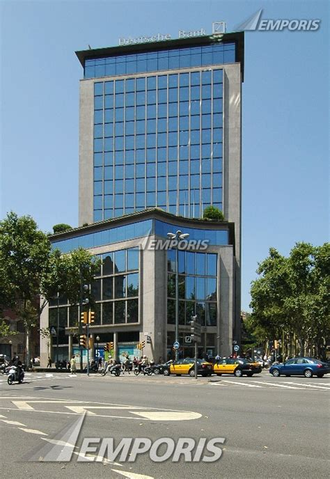 deutche bank spain deutsche bank barcelona 132987 emporis