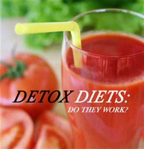 How Does The Detox Water Diet Work by Detox Diets Do They Work