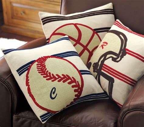 Sports Pillows by Decorative Sports Pillows Pbk Sewing