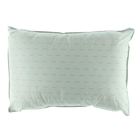 calvin klein new white cotton medium bed pillow bedding