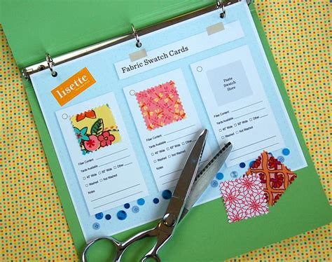 Swatch Gift Card - fabric swatch card set our holiday gift for you blog lisette