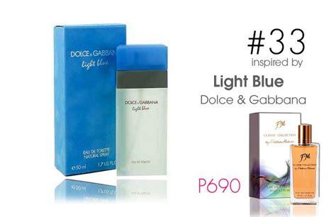 Harga Parfum Dolce Gabbana Light Blue Original jual parfum wanita original federico mahora fm 33 inspired