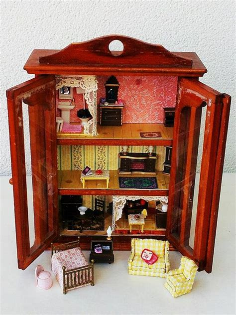 1 4 dollhouse furniture 1 48 scale dollhouse with furniture accessories ooak 1 4