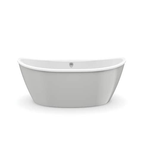 fiberglass bathtubs home depot maax delsia 5 6 ft fiberglass flatbottom non whirlpool