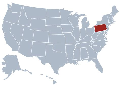 us map states pennsylvania pennsylvania state information symbols capital