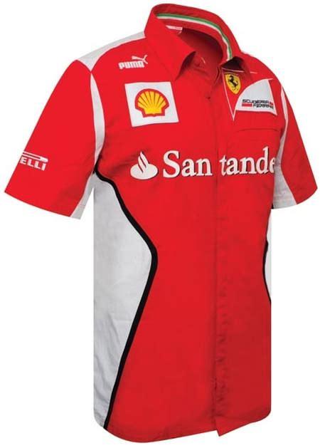 Ferrari T Shirt 2015 by Puma Ferrari Team Replica 2010 Collection