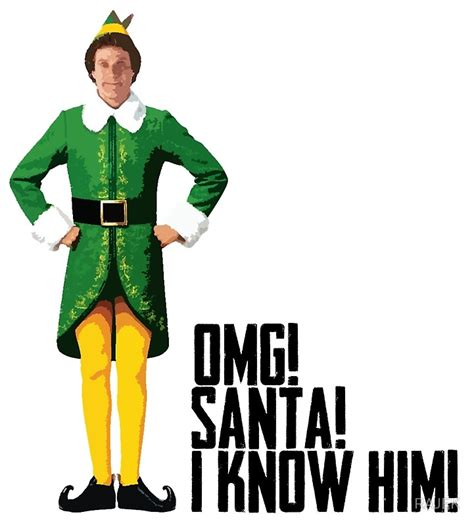 will ferrell elf quotes quot elf will ferrell buddy christmas quote funny quot art