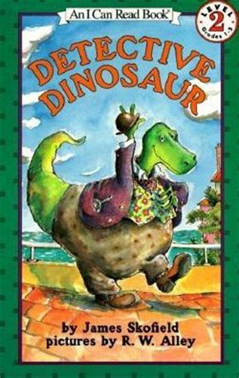 detective barnes series books detective dinosaur i can read book 2 series by