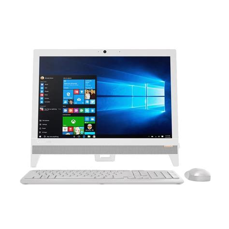 Pc Aio Lenovo 310 20iap Okid 1 jual lenovo aio 310 20iap j3355 f0cl000kid desktop pc putih 19 5 inch 4gb 500gb win10