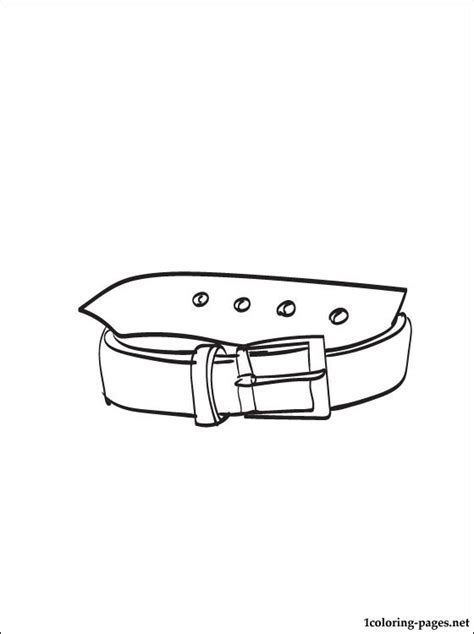 Belt Coloring Pages all belts coloring pages coloring pages