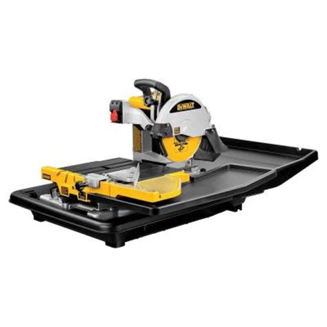 dewalt 10 in tile saw d24000 the home depot