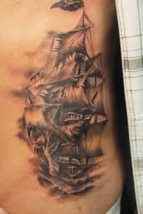 66 pirate ship tattoos ideas