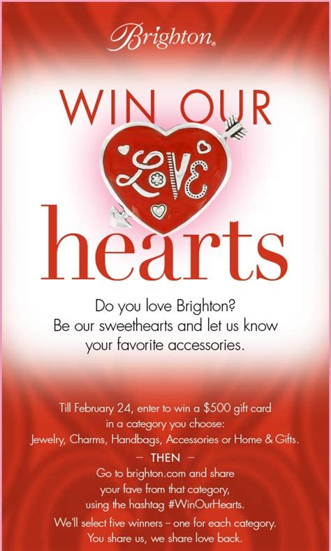About Com Sweepstakes One Entry - win our hearts sweepstakes brighton collectibles blivin he234 vps webenabled net