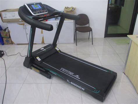 Alat Fitnes Lari alat fitnes lari ukuran besar cocok untuk berat badan diatas 100 kg
