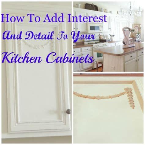 kitchen cabinet appliques adding appliques kitchen cabinets white lace cottage