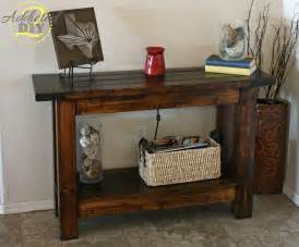 pottery barn sofa table white pottery barn inspired console table diy projects