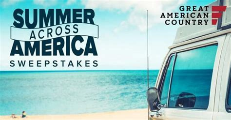 Www Gactv Com Giveaway - how to enter the summer across america sweepstakes 5 easy steps