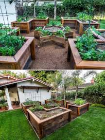 How To Prepare Raised Garden Bed - how to build a u shaped raised garden bed icreatived