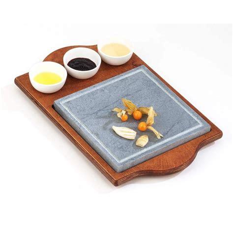 pietra ollare da tavolo pietra ollare quadra con ciotole pietre ollari da tavolo