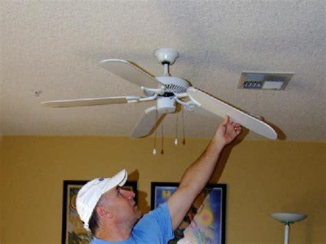 Broken Ceiling Fans by Ct On A Budget Ceiling Fan Update