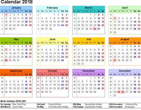 printable calendar us 2018 printable calendar with us uk holidays printable