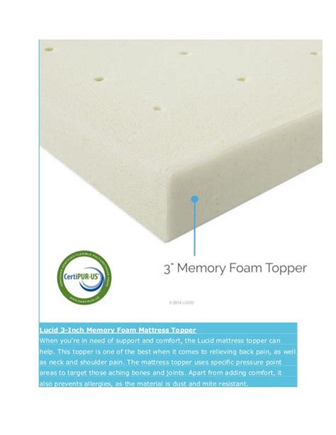 Best Mattress Pad For Back by Best Mattress Topper For Back Milliard Eggcrate