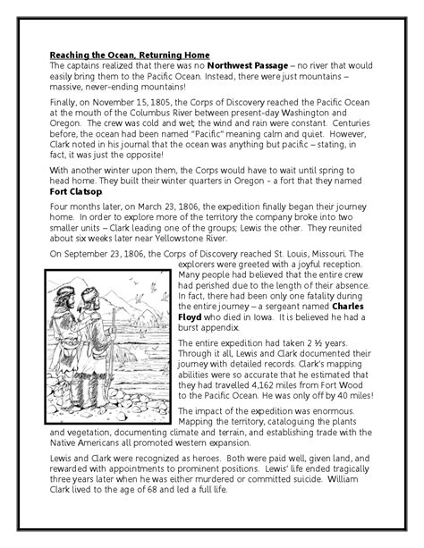 free printable lesson plans on lewis and clark worksheets lewis and clark worksheet christopherjoel